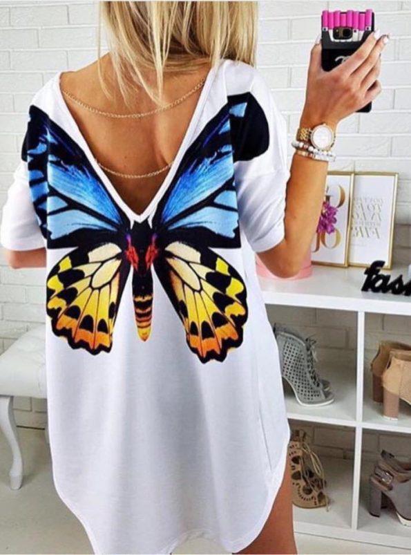 Туника с пеперуда на гърба