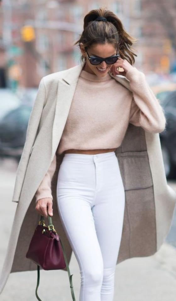 Страхотен бял панталон