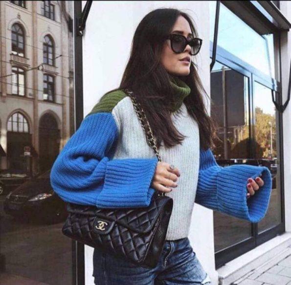Страхотен пуловер в три цвята