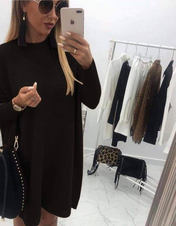 """""""ELEA"""" рокля в черно"""