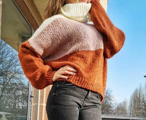 """""""ORANGE"""" Пуловер"""