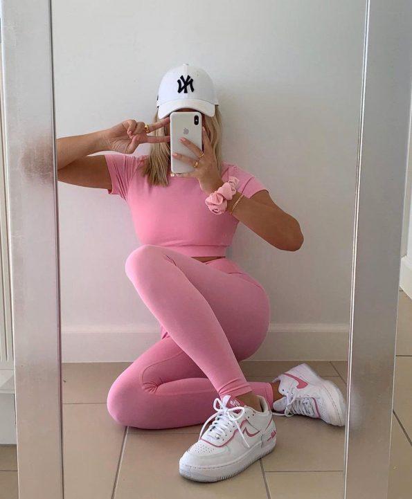 """""""FEE.05"""" Комплект в розово"""