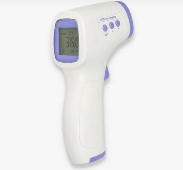 Безконтактен инфрачервен цифров термометър